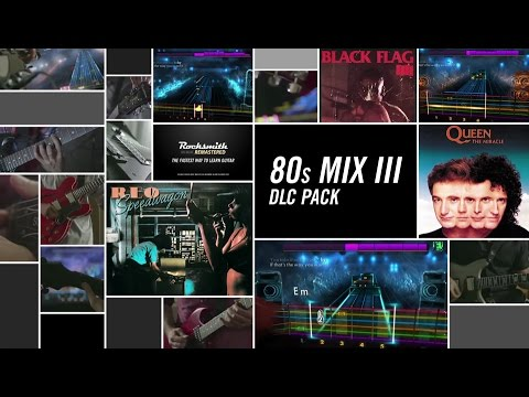 80s Mix III - Rocksmith 2014 Edition Remastered DLC