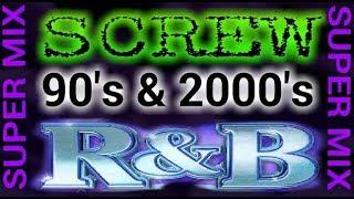 90's & 2000's R&B SUPER MIX [Slowed Down/Screwed & Chopped] By Dj Slowjah