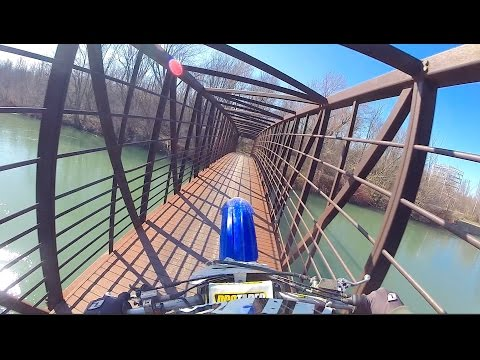 GoPro Dirt Biking:  DAIN CITY (Welland Canal)