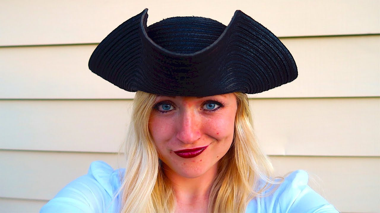 f0756bbdead How To Make A Pirate Hat! - YouTube
