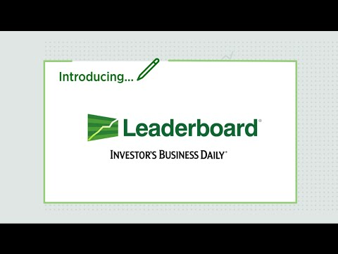 Leaderboard from Investor's Business Daily
