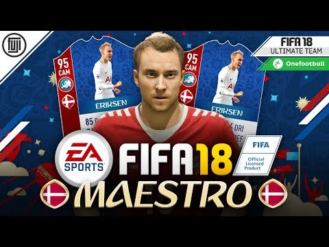 WORLD CUP MAESTRO! TOTS ERIKSEN! - FIFA 18 Ultimate Team