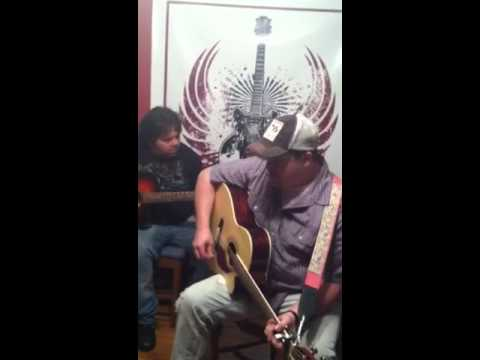Frank Caswell and Brian Sherwood perform an original song -