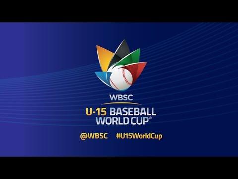 USA vs Chinese Taipei  - WBSC U-15 Baseball World Cup 2016