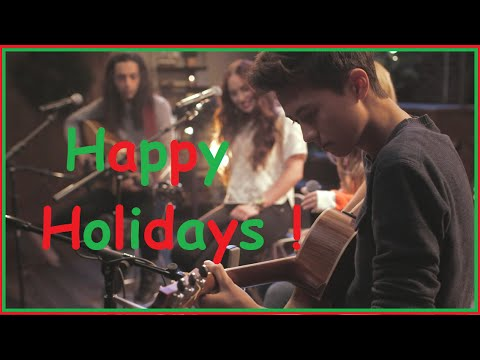 Deck The Halls - Performed Live at Youtube Space LA. Ft. Heather Russell