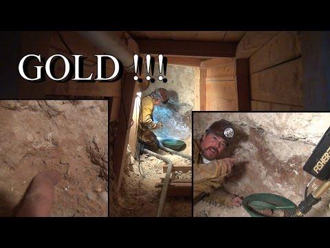 POCKET OF GOLD !!!! Found In Secret Mine. ask Jeff Williams