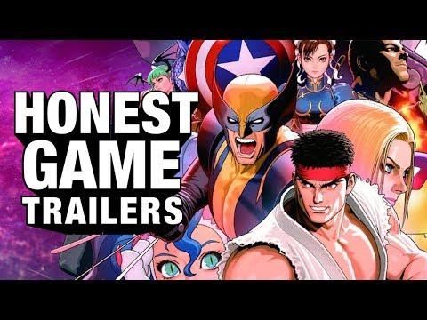 MARVEL vs. CAPCOM (Honest Game Trailers)