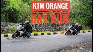 Zapętlaj YAMAHA R6 220kmph on Hills😱😱!! NERD group ride || KTM Orange Day Shillong | #88 Racing