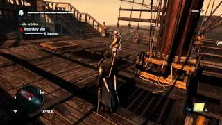 AC4 Black Flag - El Impoluto Legendary Ship Glitch
