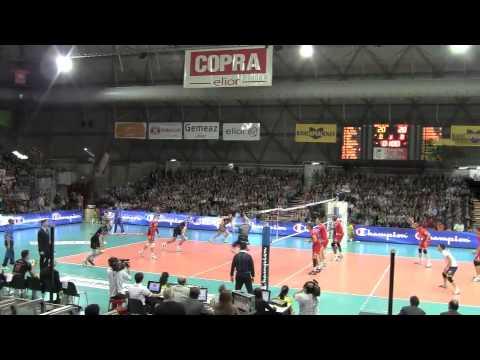 Macerata-Piacenza: una sfida d'Europa in 4 minuti