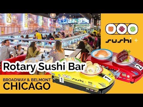 Sushi Plus | Rotary Sushi Bar Boystown Chicago