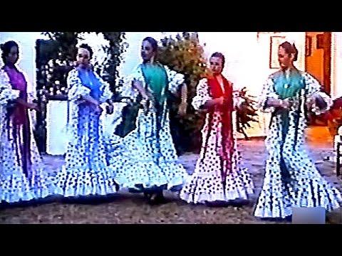 Bailaoras, Fandangos de Huelva con castañuelas - Flamenco