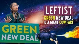 Leftist GREEN NEW DEAL Is A Giant Cow Fart  |  Katie Petrick