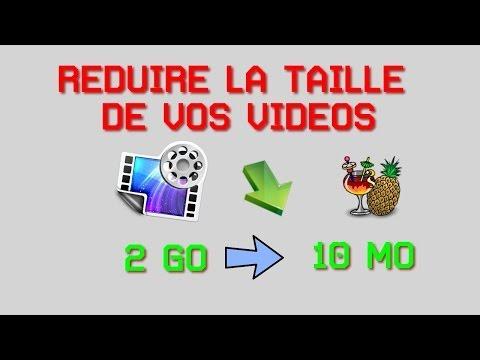 Comment encoder, réduire le poids d'une vidéo sans réduire la qualité avec Handbrake ! [HD]