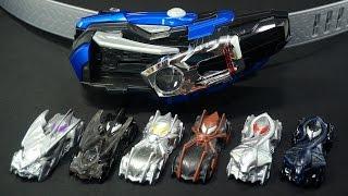 仮面ライダー ドライブ DXマッハドライバー炎ホノオでシフトカースキャン バイラルコア編 Kamen Rider Drive DX Mach Driver Honoo thumbnail
