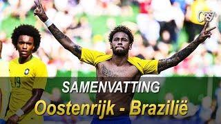 HIGHLIGHTS & ALL GOALS | Austria Vs Brazil 0-3 ( 10/06/2018) HD 🔥