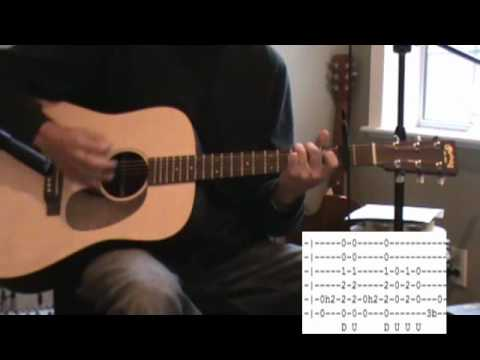 Man Of Constant Sorrow Acoustic Guitar Lesson - Tab - Normal Tuning ...