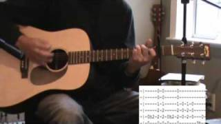 Man Of Constant Sorrow Acoustic Guitar Lesson - Tab - Normal Tuning