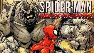 Spider Man Web of Shadows Gameplay German - Rhino Prison Break