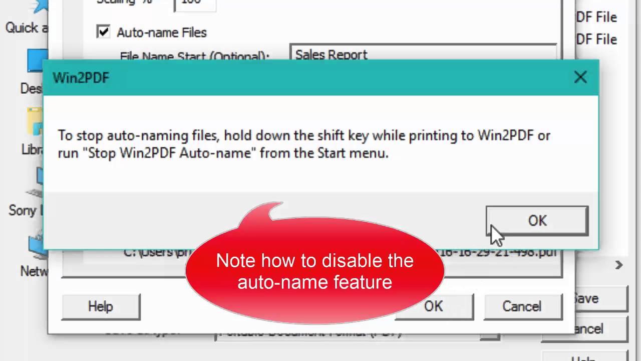 auto name pdf files endnote