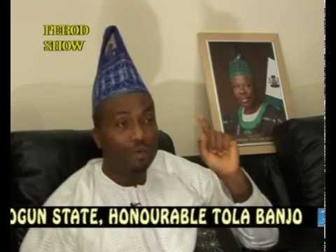 PEROD SHOW INTERVIEWS THE DEPUTY SPEAKER OF OGUN, HONOURABLE TOLA BANJO  PT. B