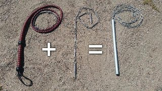 Steel Whip = 9 Section Chain Whip + Bullwhip