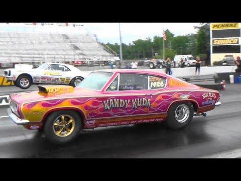 Hemi cars NHRA Top Sportsman Maple Grove Raceway 5 27 17