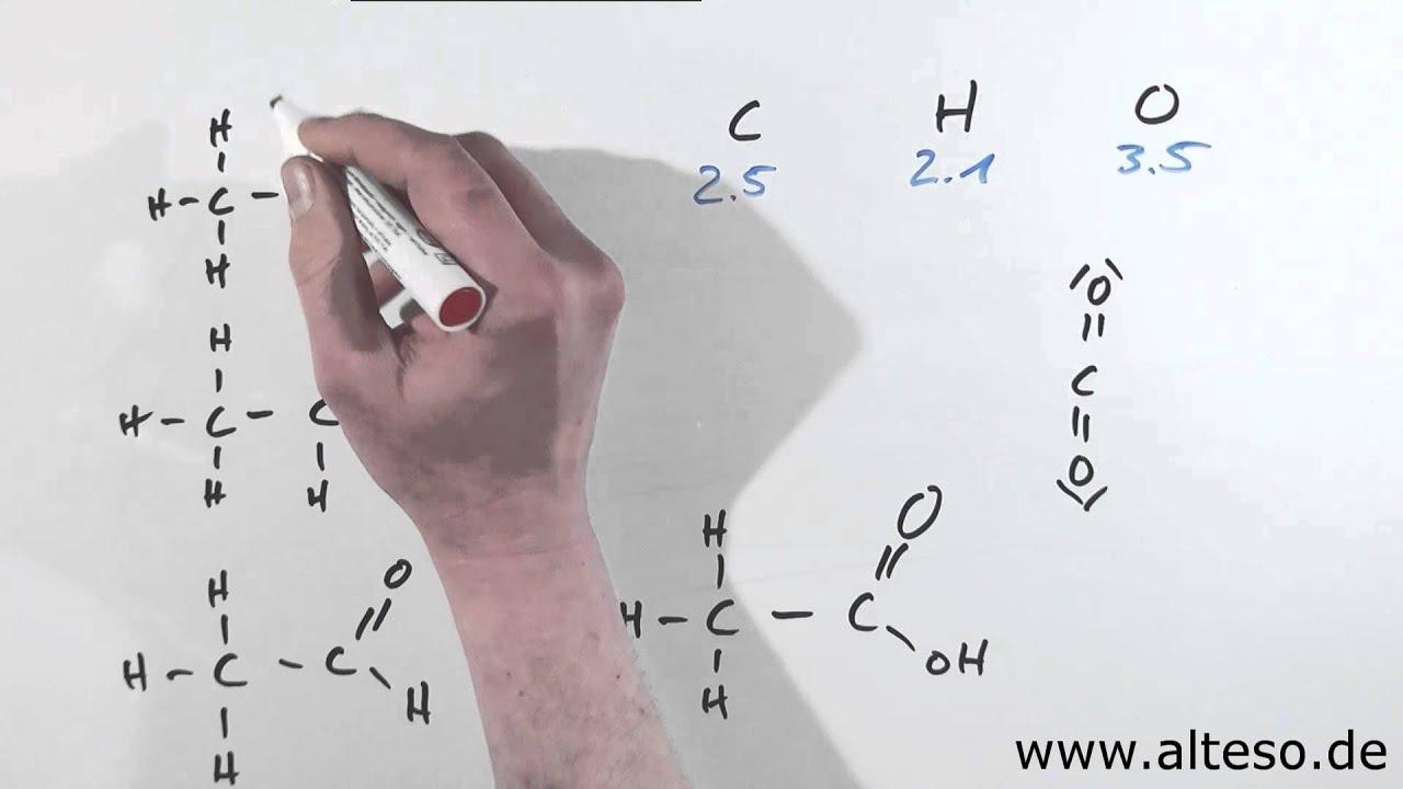 Oxidationszahlen bei organischen Verbindungen - YouTube