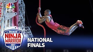 Najee Richardson at the Las Vegas National Finals: Stage 2 - American Ninja Warrior 2017