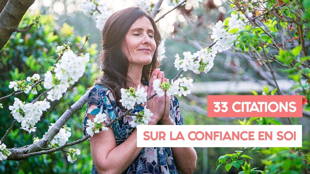 33 Citations Sur La Confiance En Soi
