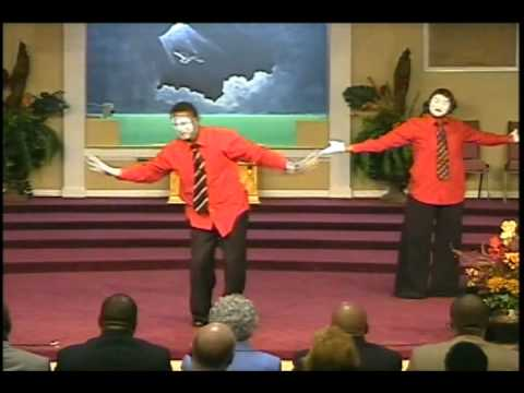 Reflection of Christ Mime - He Has His Hands On You