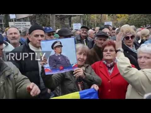 Bosnia and Herzegovina: Thousands OAPs hit the streets in Sarajevo to protest social conditions