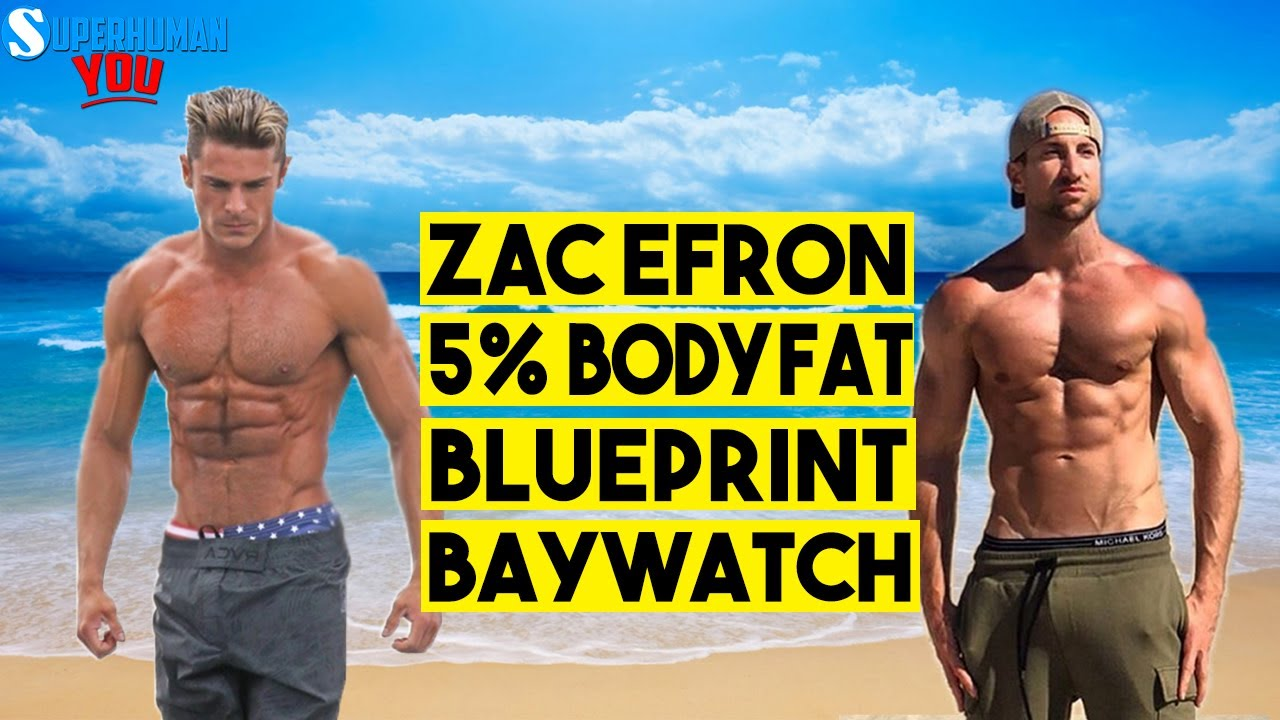 Zac efron 5 body fat his 12 week workout plan meal by meal his 12 week workout plan meal by meal diet baywatch malvernweather Gallery