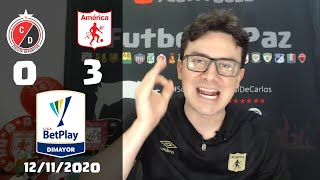 Reacciones Cucuta Deportivo 0 vs 3 America de Cali | Liga Betplay 2020
