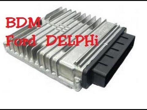 How to BDM Ktag Ford Delphi ECU