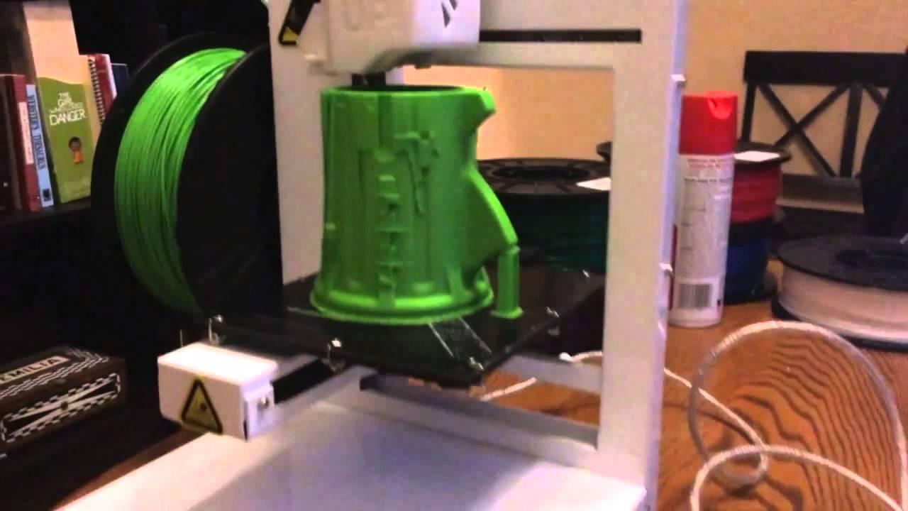 3d printed Shark Gauntlet on UP! Plus 2 3d printer