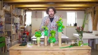 Green Trick Design | Flower Factor How to Make | Powered by HilverdaKooij