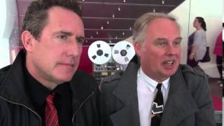 OMD - Bay TV interview at the museum of Liverpool