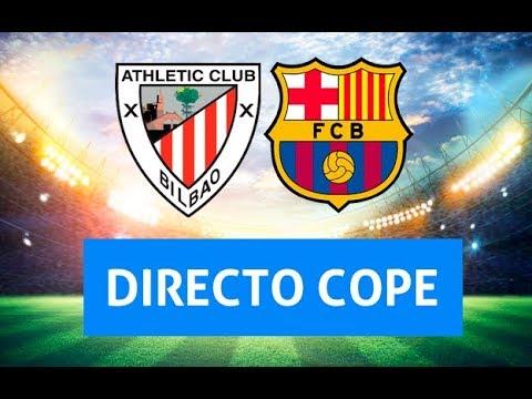 (SOLO AUDIO) Directo del Athletic 0-0 Barcelona en Tiempo de Juego COPE