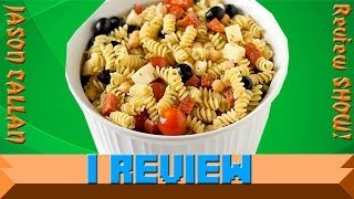 I Review Basil & Olive Oil Pasta Salad With Fresh Roma Tomatoes