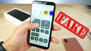 Çinliler Yine Çaktı: Çakma iPhone X İncelemesi