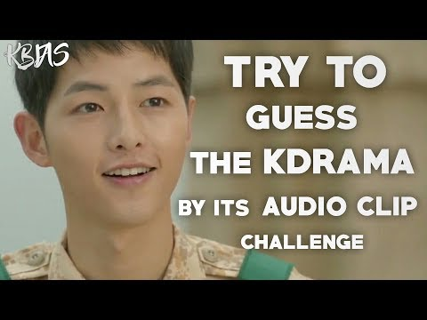 TRY TO GUESS THE K-DRAMA BY ITS AUDIO CLIP | K-DRAMA CHALLENGE