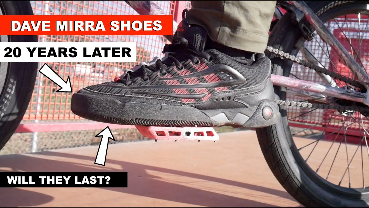 ** BMX SHOES 20 YEARS LATER! ** --ADIDAS DAVE MIRRA--