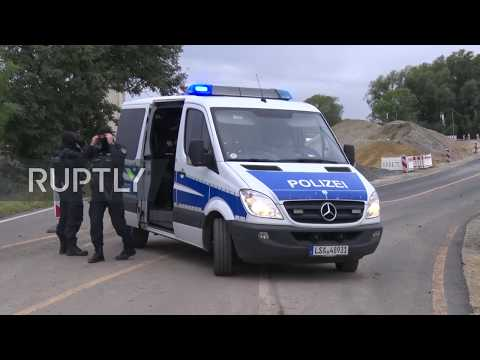 Germany: Synagogue shooting suspect detained on highway south of Halle