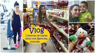 Vlog: Compras de Natal, raiva com Reforma, diversão e muito mais...| Paloma Soares