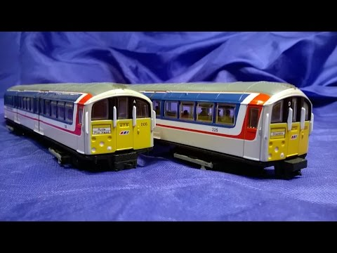 Reviewing/Improving EFE/Metromodels Twin Car I.O.W. Set Network Southeast Livery. Hornby Triang etc.