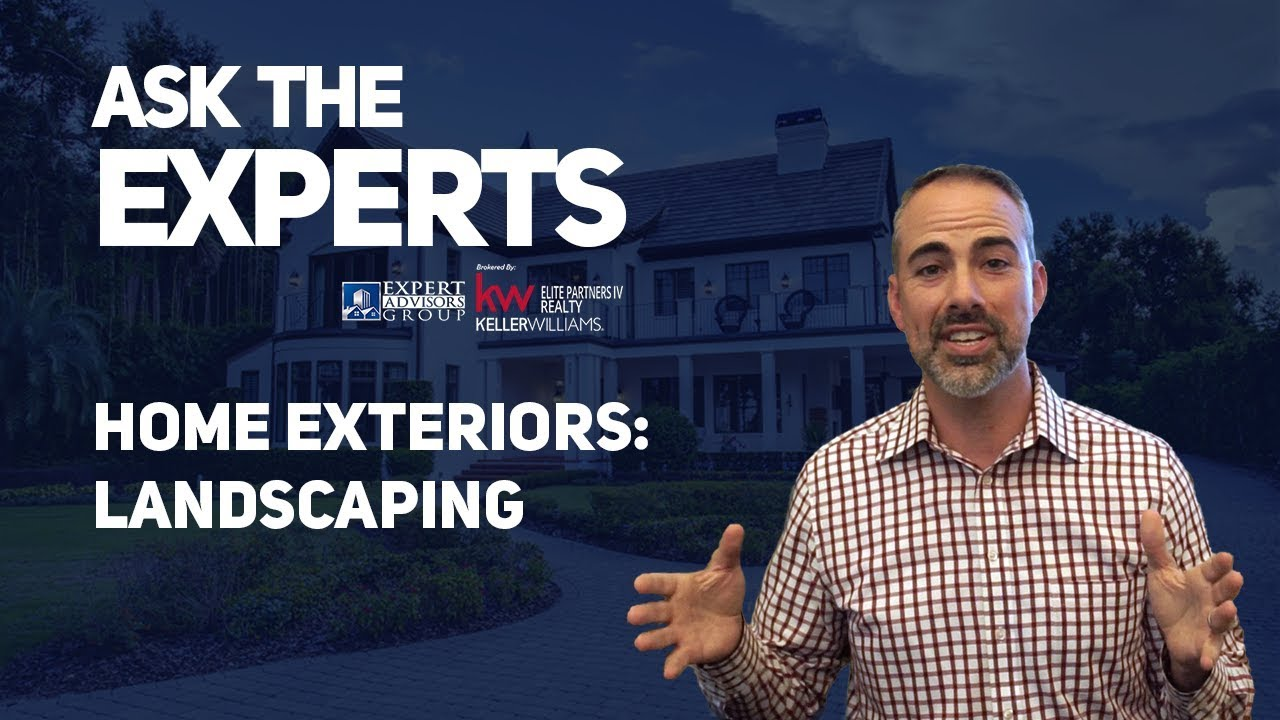 Ask the Experts: Home Exteriors - Landscaping - Bryan Nelson