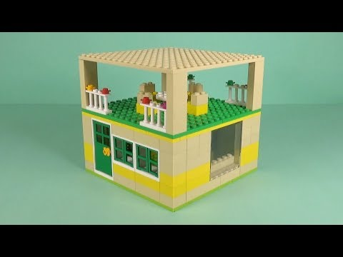 LEGO House (035) Building Instructions - LEGO Bricks How To Build - DIY