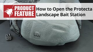 How to Open the Protecta Landscape Bait Station
