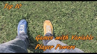 Top 10 Board Games with Variable Player Powers
